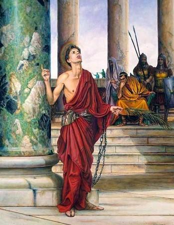 Rome Chrétienne et ses monuments - EUGENE DE LA GOURNERIE - 1867 0512pancrace