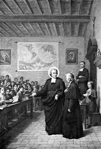 iconographie chr 201 tienne jean baptiste de la salle pr 234 tre fondateur et confesseur