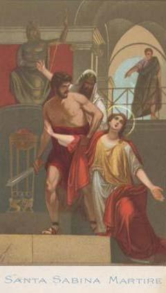 Rome Chrétienne et ses monuments - EUGENE DE LA GOURNERIE - 1867 0829sabine