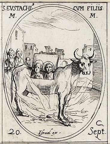 Eustache ou Eustase   une église est attestée sous ce titre dès le  pontificat de Léon III (+805). Mais la confusion règne et soit on fête  Eustase, ... c017239a213