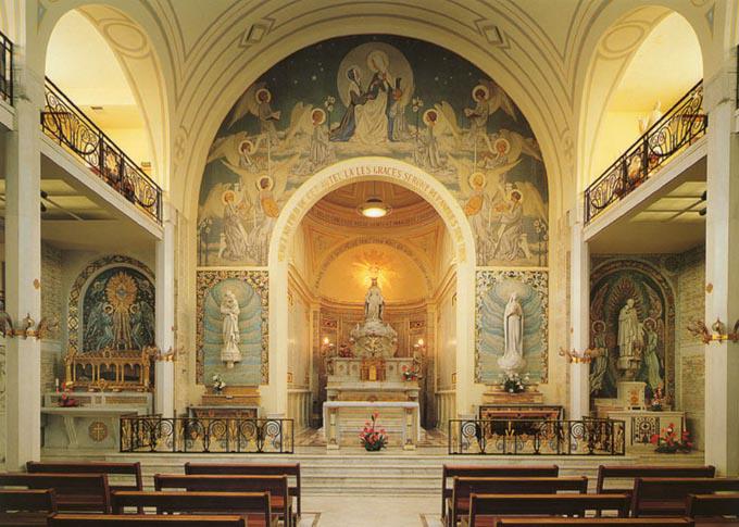 27 novembre Apparition de la Vierge Marie à la Rue du Bac 1127medaille1