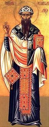 Saint Cyrille de Jérusalem, Evêque et docteur de l'Eglise (+386)